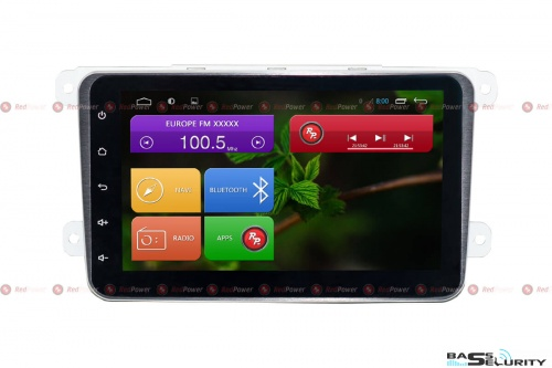 Volkswagen и Skoda Redpower 31004 IPS DSP 8'' ANDROID 7